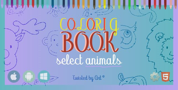 Coloring Book Select Animals